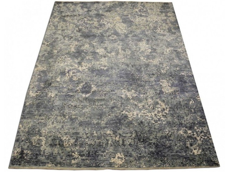 Wool and Silk Rug