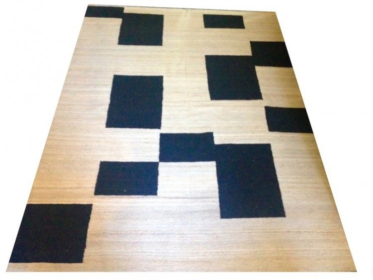 Black and White Kilim