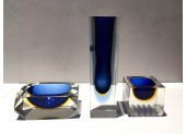 Set of Murano Glass Dishes