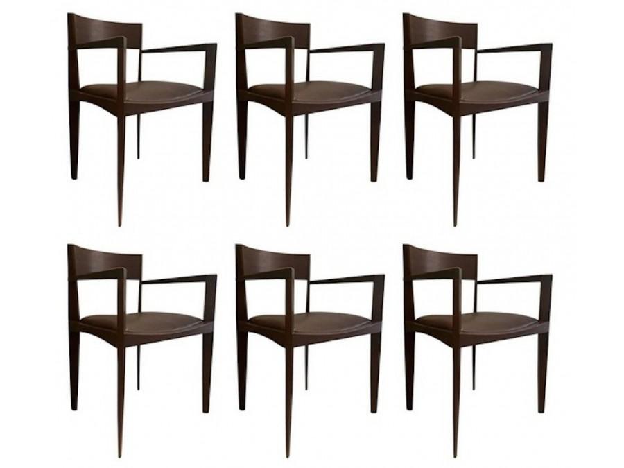 Conjunto de sillas de comedor italianas - Conjunto de comedor ...