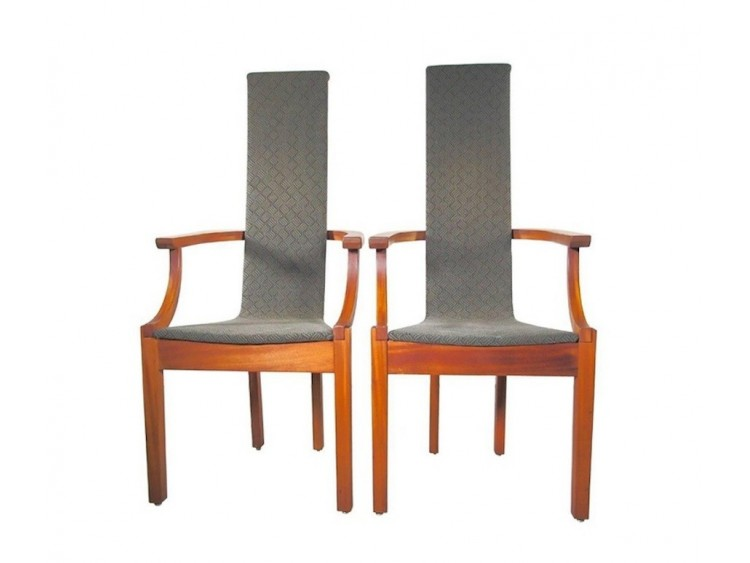 Modern High Back Chair