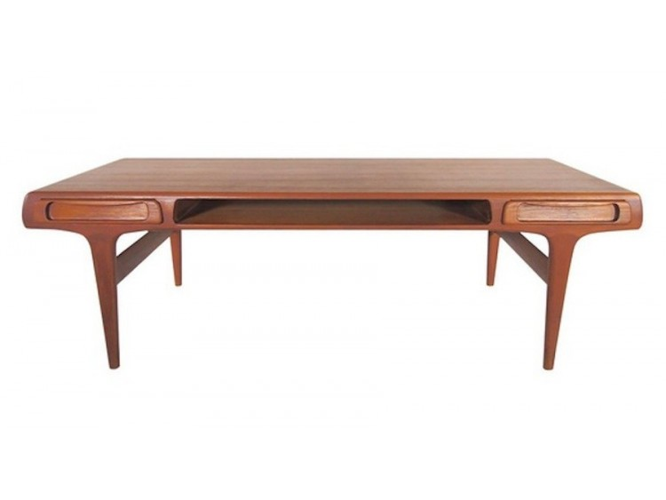Large Teak Coffee Table