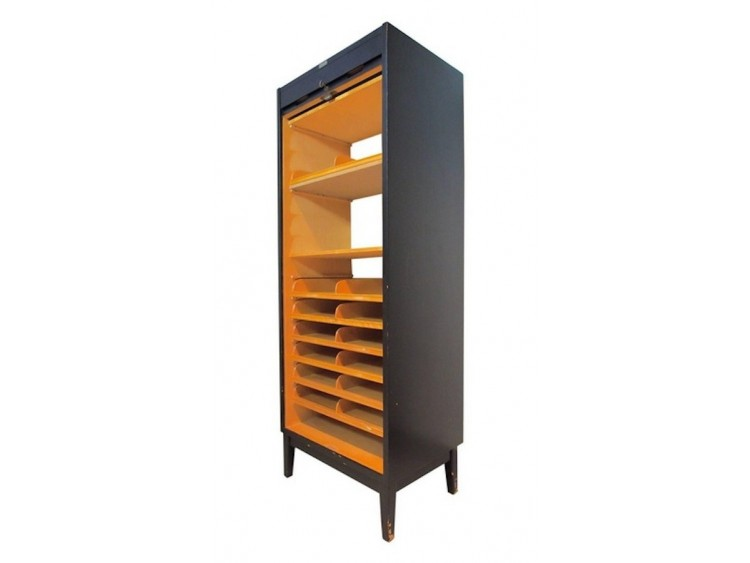 Roll-front Cabinet