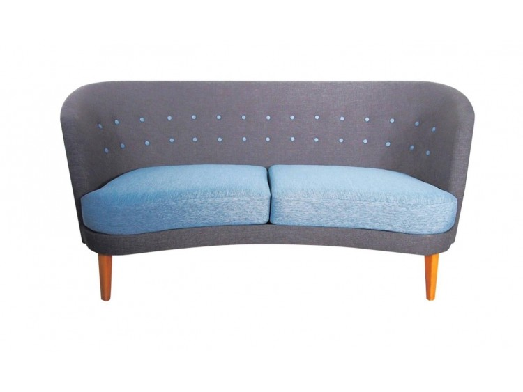 Scandinavian Modern Two-tone Sofa