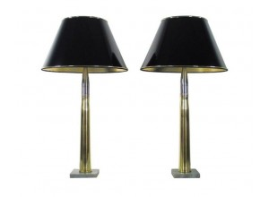 Pair of Artillery Shell Lamps