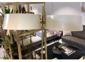 Floor Lamp with Magazine Shelf