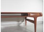 Large Teak Coffee Table