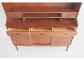 Large teak secretaire