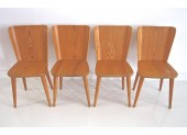 Set of dining table with four chairs by Karl Anderssson & Soner