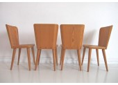 Göran Malmvall Dining Table and Four Chairs by Karl Andersson & Söner