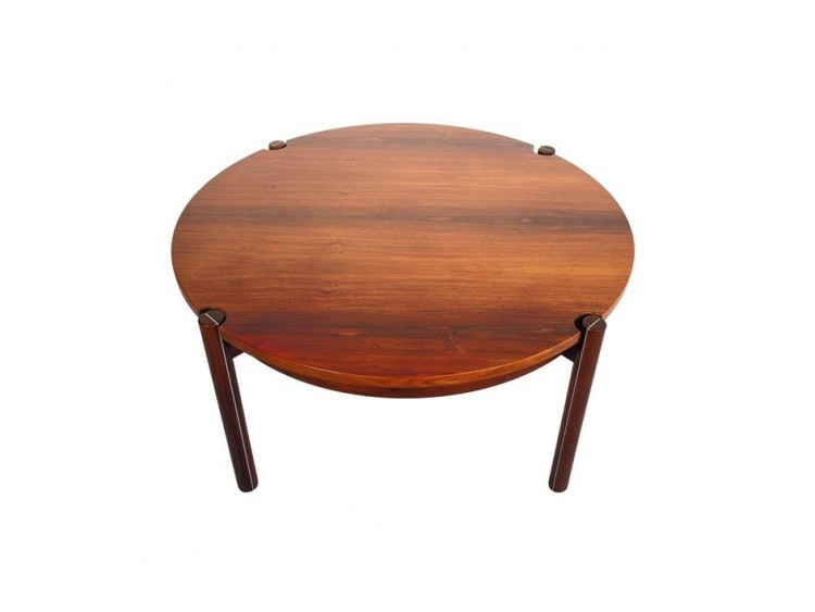 Round Mid-Century coffee table
