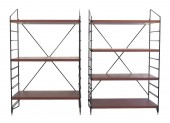 Pair of Small Shelves
