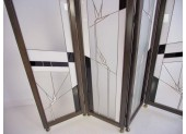 Art Deco Glass Screen by Poliarte