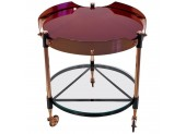 Round Italian Tray Table