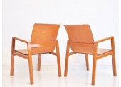 Pair of Alvar Aalto 403 Hallway Chairs by Finmar Ltd