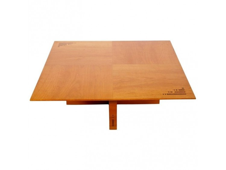 Jaume Tresserra Marquetería Walnut Coffee Table