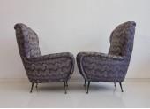 Pair of Italian 1950/60s Armchairs