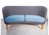 Scandinavian Modern Two-tone Sofa