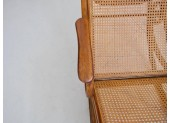 Thonet Bentwood and Rattan Chaise Longue