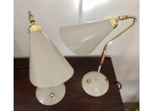 Pair of Light Grey Table Lamps