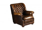 English Chesterfield Armchair