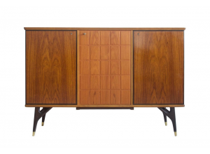 Beech and Teak Sideboard