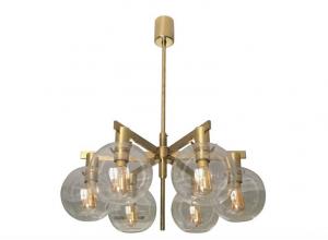 Lámpara de techo por H.A. Jakobsson