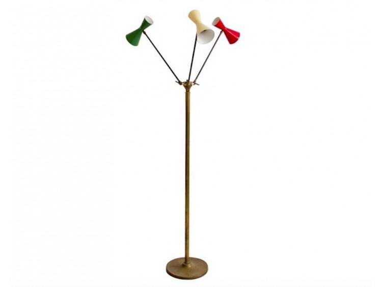 Multicoloured Floor Lamp