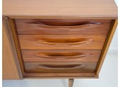 Pair of Teak Credenzas