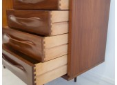 Lacquered Teak Sideboard