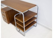 Black Tubular Steel Desk