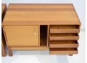 Pair of Mahogany File Cabinets