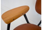 Pair of Brown Leather Chairs