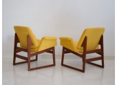 Yellow Arflex Armchairs