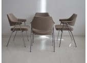 Set of Four Thonet Chairs