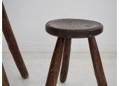 Rustic Table and Stools