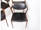 Set of Four Kai Kristiansen Chairs