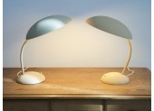 Pair of Beige Table Lamps