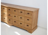 Long Wooden Chest of Drawers