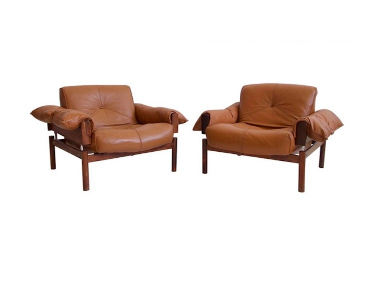 Pair of Percival Lafer Armchairs