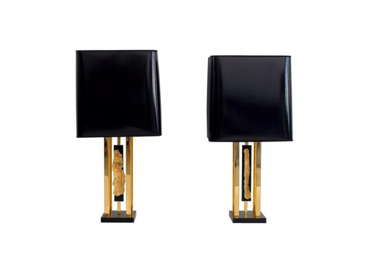 Pair of Philippe Cheverny Lamps