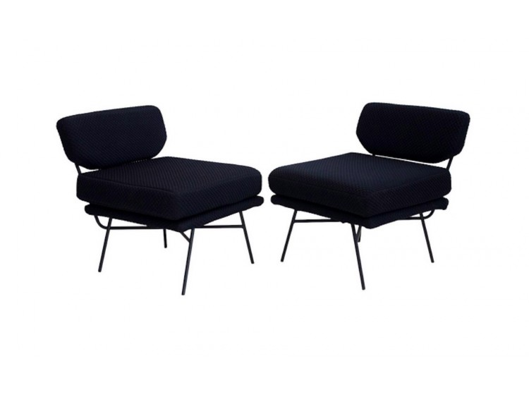 Pair of Elettra Lounge Chairs