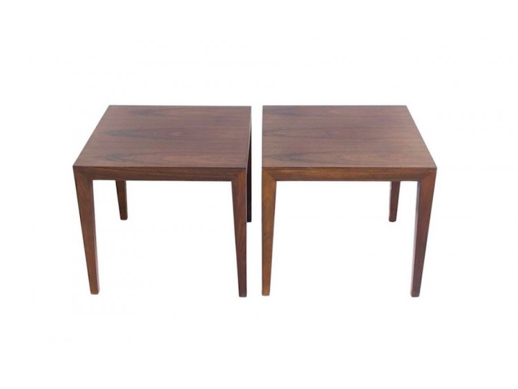 Pair of Square Side Tables